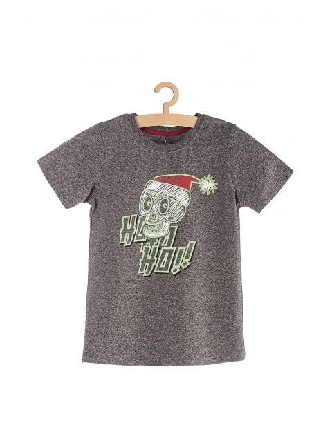 Koszulka chłopięca z napisem Ho-ho-ho