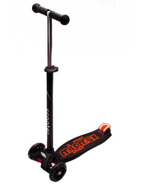 Hulajnoga Vivo 3-kołowa do 30kg czarno-pomarańczowa