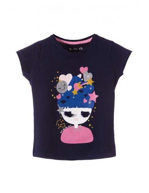 T-shirt dla dziewczynki 3I3515