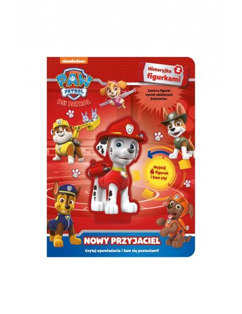 Książka dziecięca - Psi Patrol. Historyjki z figurkami. Nowy przyjaciel