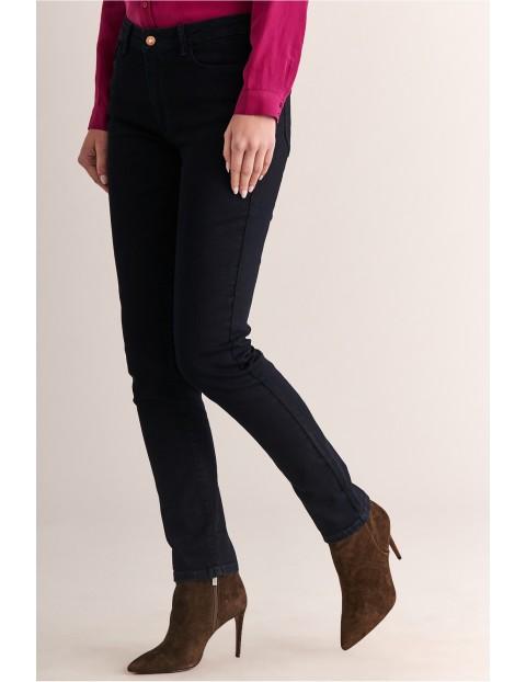 Spodnie damskie - czarne Tatuum