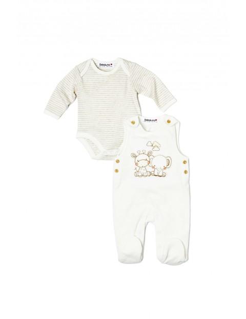 Komplet niemowlęcy body+pajac 5P33AI
