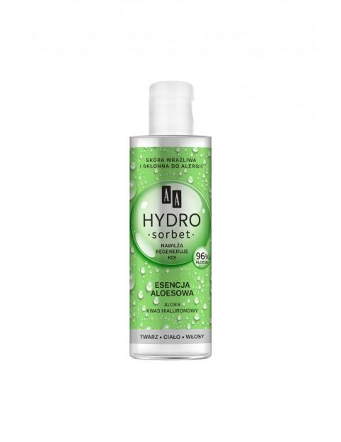 AA Hydro Sorbet na twarz, ciało, włosy esencja aloesowa 100 ml