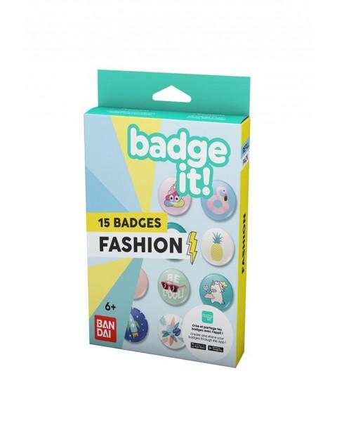 BadgeIt! Fashion Zestaw przypinek 3Y35J1