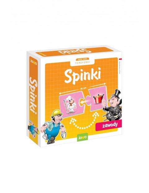 Układanki edukacyjne Spinki - Zawody 4+