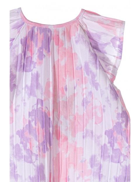 Sukienka plisowana dla niemowlaka