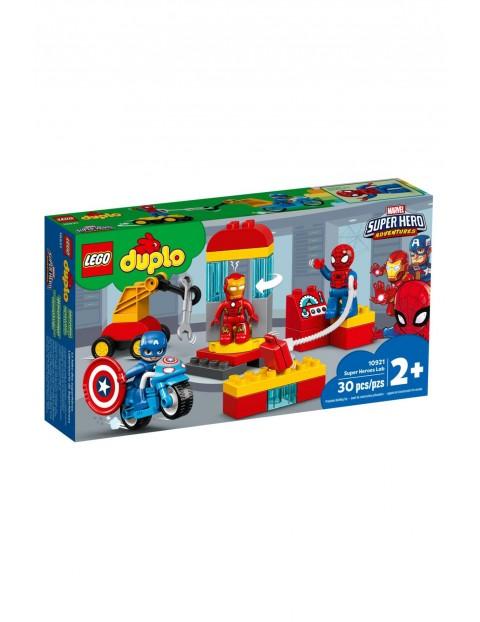 Lego Duplo - Laboratorium Superbohaterów - 30 elementów wiek 2+