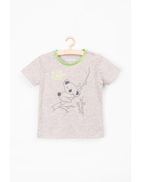 Koszulka chłopięca z pandą