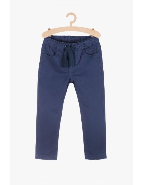 Spodnie chłopięce - granatowe