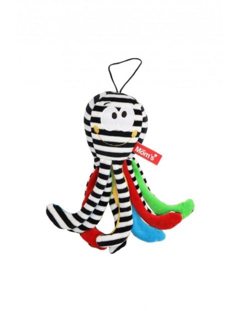 Mini Ośmiornica Biało-Czarna zabawka dla niemowląt