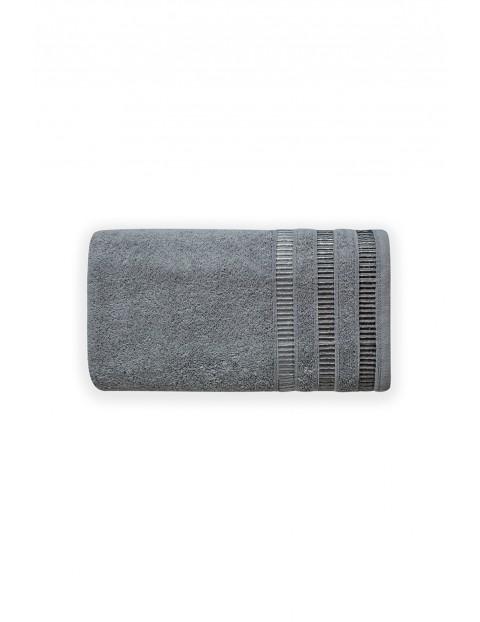 Ręcznik bawełniany SAGITTA szary 50X90cm