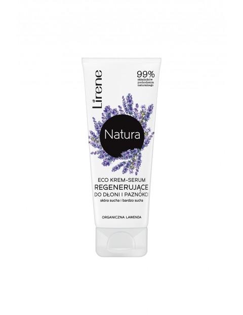 Lirene Natura Eco krem-serum regenerujące do dłoni i paznokci 75ml