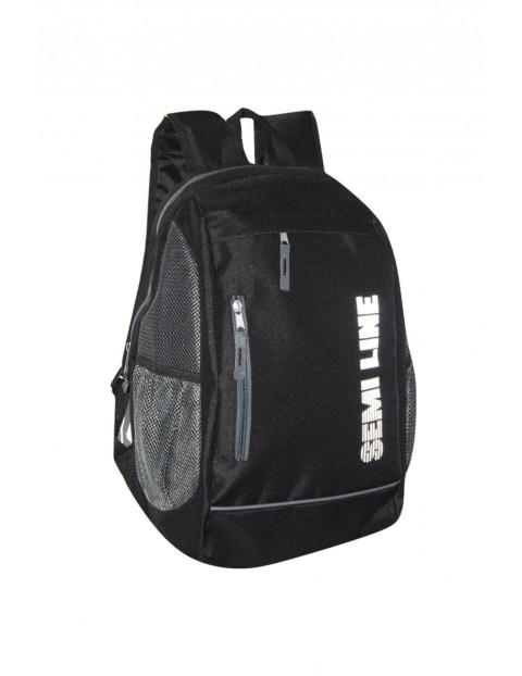 Plecak szkolny czarny Semi Line 2Y35AE