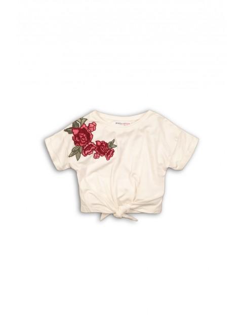 T-shirt dziewczęcy 3I34BY