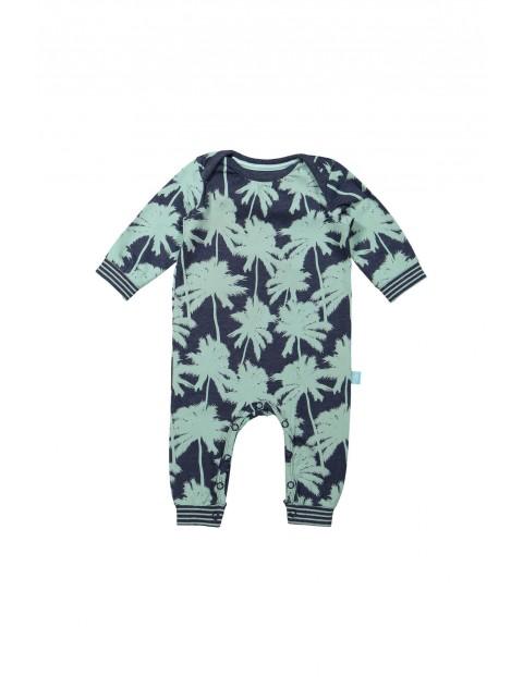 Pajac niemowlęcy w palmy