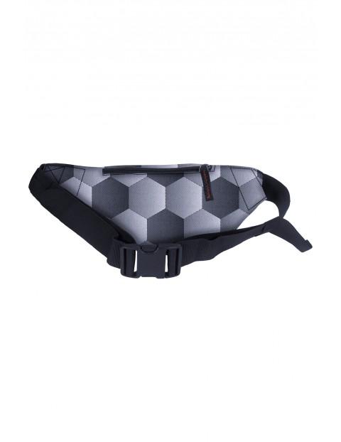 Nerka torba na biodro - szaro - czarna