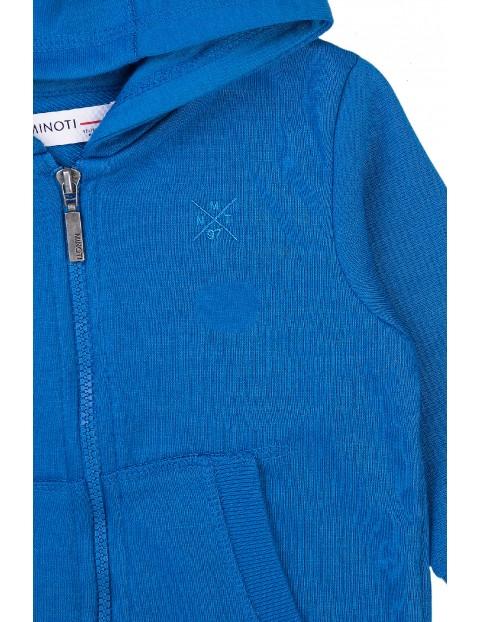 Bluza dresowa niemowlęca z kapturem