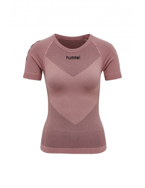 Bezszwowa koszulka sportowa z krótkim rękawem Hummel