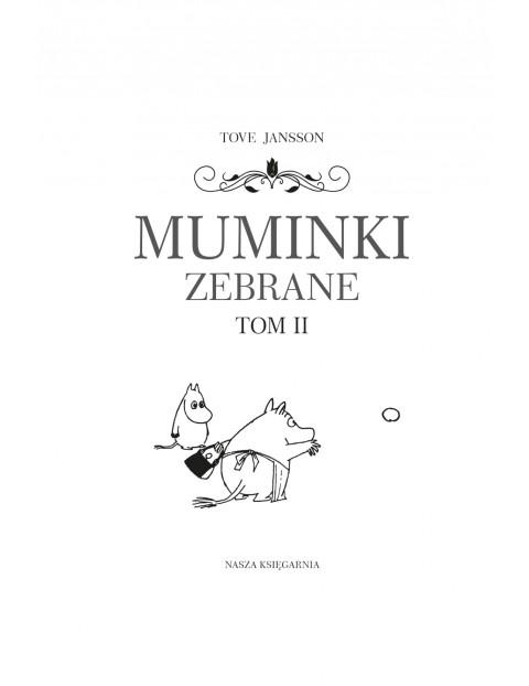 Książka dziecięca - Muminki zebrane. Tom 2