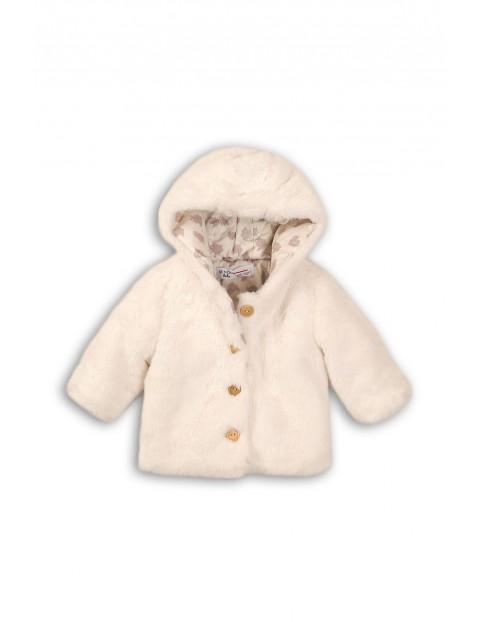 Płaszczyk dla niemowlaka- ecru