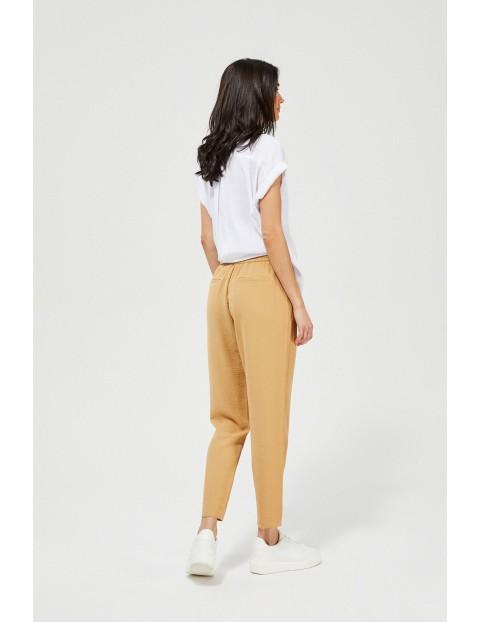 Spodnie damskie z wiązaniem