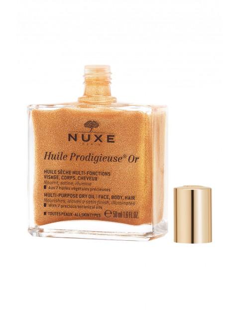 Nuxe Huile Prodigieuse Or Suchy olejek o wielu zastosowaniach ze złotymi drobinkami 50 ml