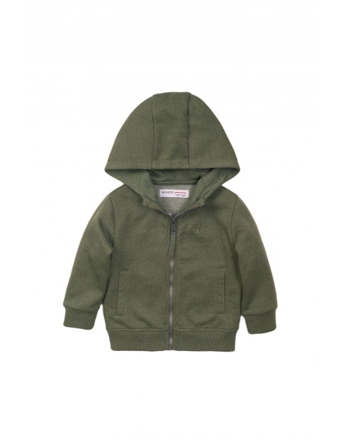 Bluza dresowa chłopięca - zielona