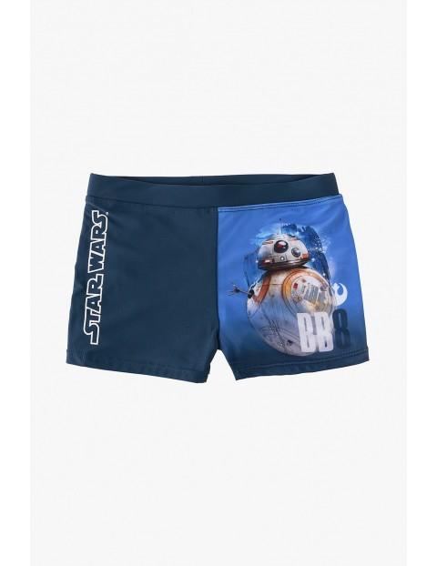 Kąpielówki dla chłopca -Star Wars- granatowe
