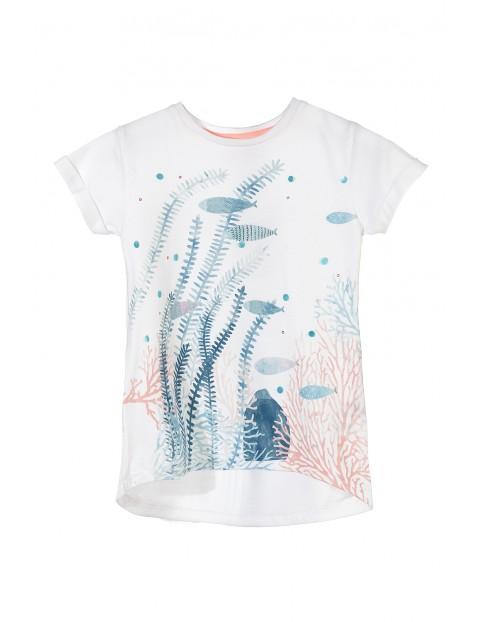 T-shirt dziewczęcy 4I3224