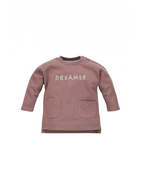Bluza chłopięca Dreamer beżowa