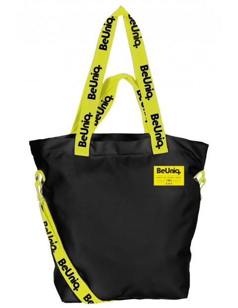 Torba na ramię czarno-żółta