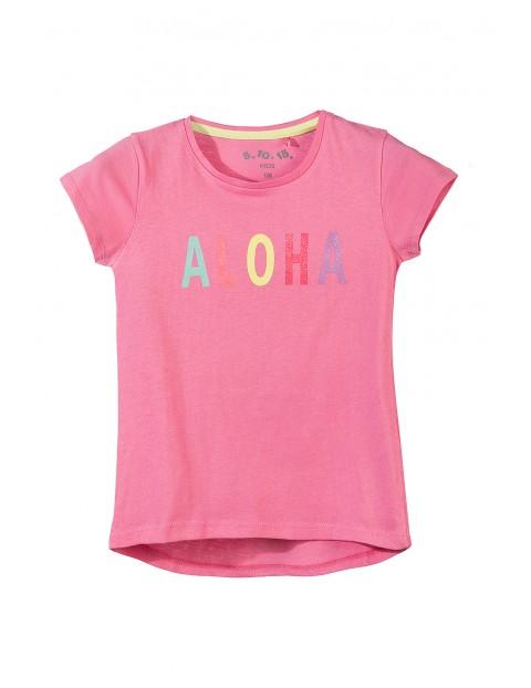 T-shirt dziewczęcy 3I3450