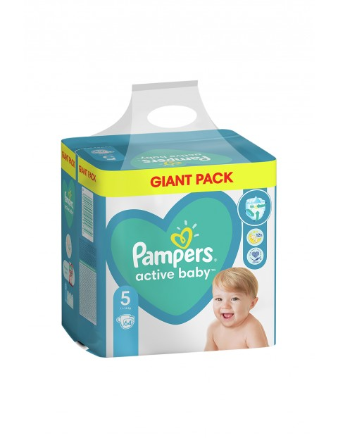 Pampers Active Baby, rozmiar5, 64szt, 11-16kg