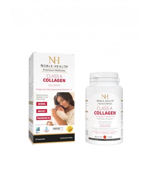 Kolagen Class A Collagen dla MAMY Noble Health 90 kapsułek