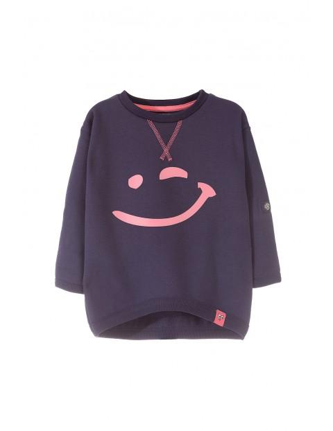 Bluza dresowa dziewczęca 3F3204