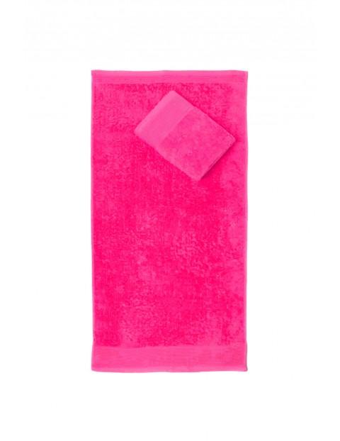 2 -pak ręczników Aqua w kolorze różowym 30x50 cm