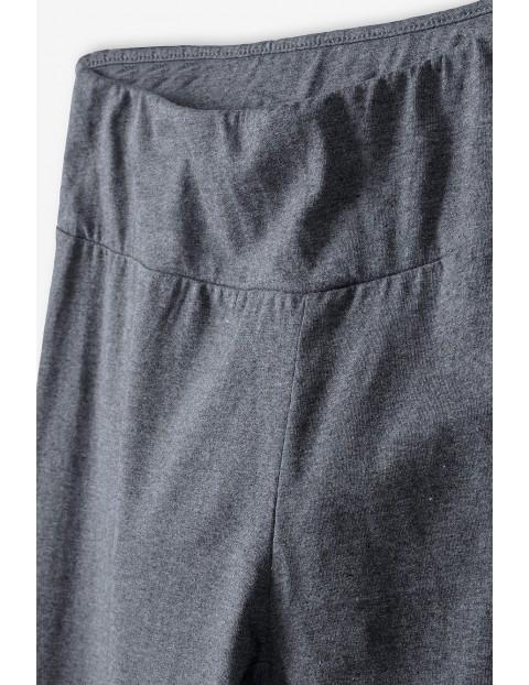 Szare leginsy damskie damskie- ubrania dla całej rodziny