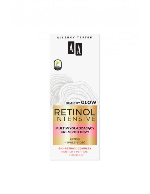 AA Retinol Intensive multiwygładzający krem pod oczy lifting+sprężystość 15 ml