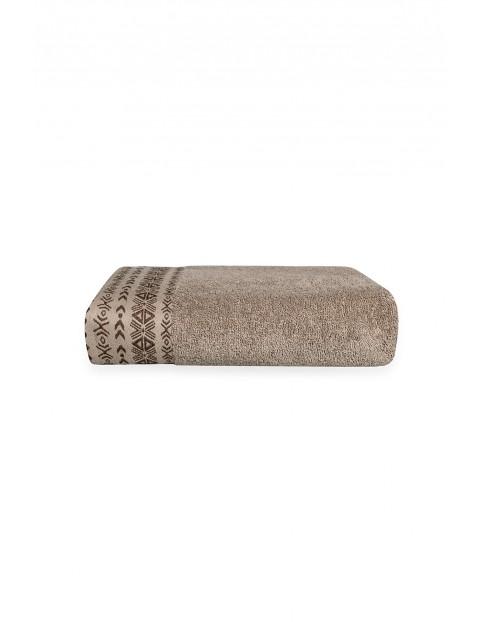 Ręcznik bawełniany DRIADA - orzechowy 70X140cm