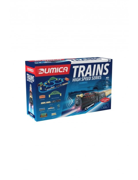 High speed train set deluxe/ d3- kolejki i tory