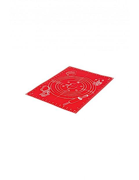 Stolnica mała silikonowa 40x30cm czerwona