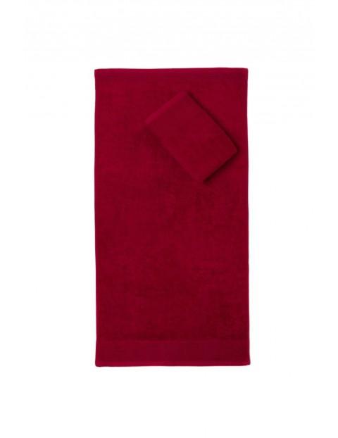 Ręcznik Aqua Frotte - bordowy 50x100 cm