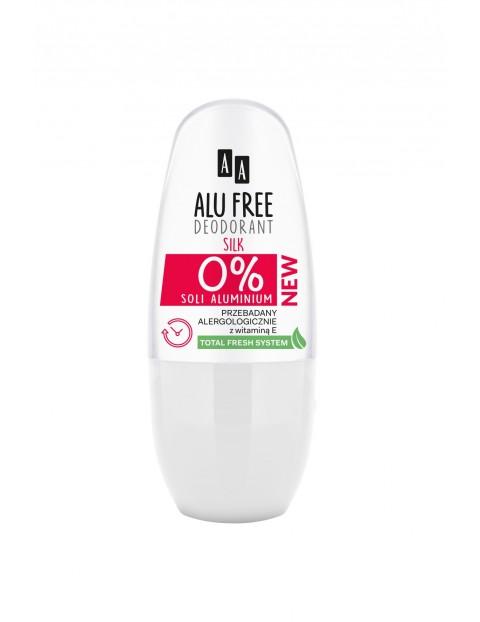 AA Alu Free Deodorant roll-on Silk 50 ml