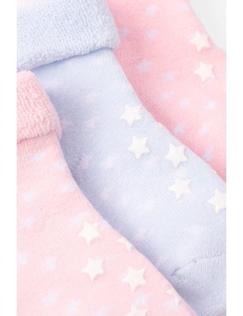 Ciepłe skarpety z ABS dla niemowlaka