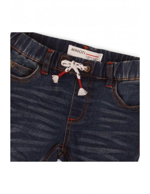 Spodnie niemowlęce jeansowe
