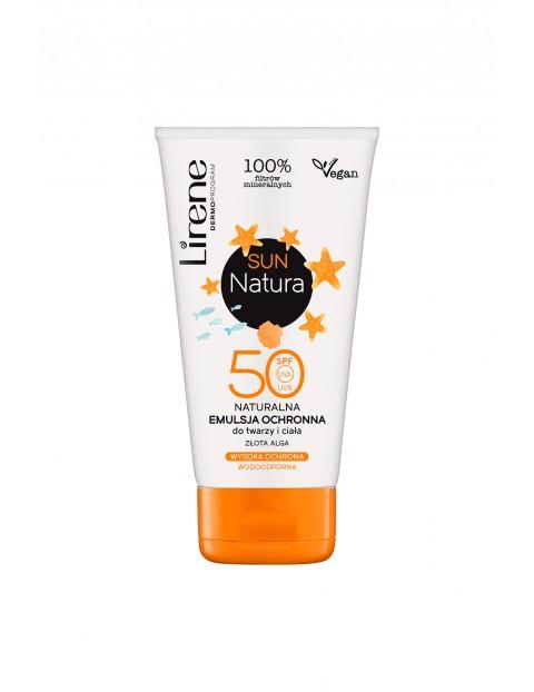 Lirene Sun Natura Naturalna emulsja ochronna SPF 50 120 ml