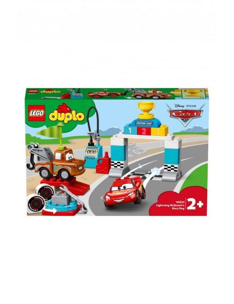 Klocki Lego DUPLO 10924 - Zygzak McQueen na wyścigach - 42 elementy