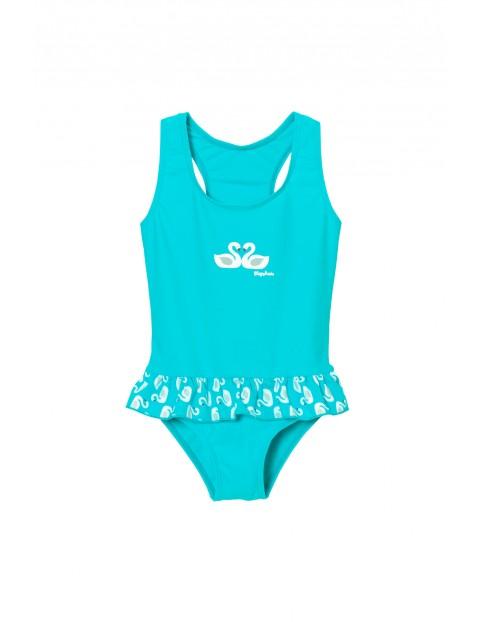 Strój kąpielowy jednoczęściowy dla dziewczynki- filtr UV