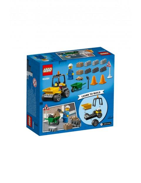 LEGO City - Pojazd do robót drogowych - 58 elementów
