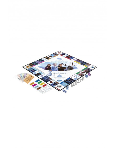 Gra Monopoly Kraina Lodu II 8+